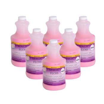 PAR7884 - Paragon - 7884 - 6-4 lb. bottles Bubble Gum Magic Floss Product Image