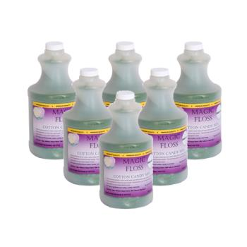PAR7886 - Paragon - 7886 - 6-4 lb. bottles Green Apple Magic Floss Product Image