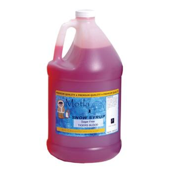 PAR6201 - Paragon - 6201 - Motla Sugar-Free Syrup - Tigers Blood (gallon) Product Image