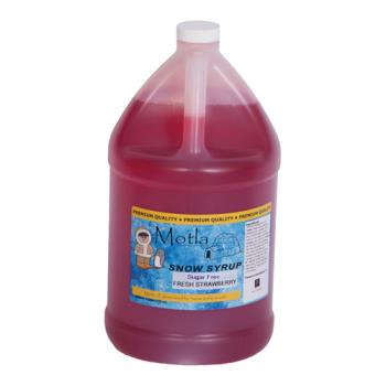 PAR6203 - Paragon - 6203 - Motla Sugar-Free Syrup - Fresh Strawberry (gallon) Product Image