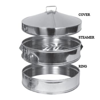 THGSLSTM010C - Thunder Group - SLSTM010C - 10 in Stainless Steel Steamer Cover Product Image