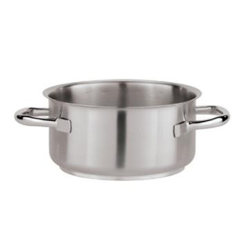 WOR1101018 - World Cuisine - 11010-18 - 2 1/2 qt Stainless Steel Stew Pot Product Image