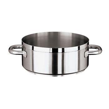 WOR1110945 - World Cuisine - 11109-45 - Grand Gourmet 28 1/2 qt Stainless Steel Rondeau Pot Product Image
