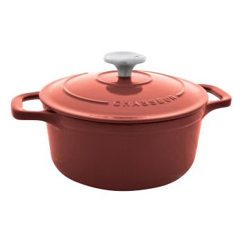 WORA1737328 - World Cuisine - A1737328 - Chasseur 6 3/4 qt Red Dutch Oven Product Image