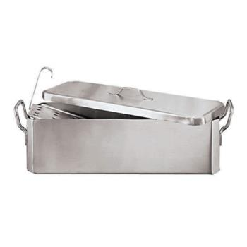 WOR4196460 - World Cuisine - 41964-60 - 7 1/2 in x 24 in Stainless Steel Fish Poacher Product Image