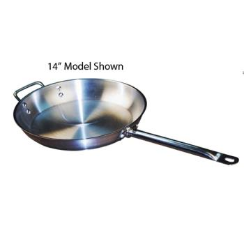 WINSSFP11 - Winco - SSFP-11 - 11 in Stainless Steel Fry Pan Product Image