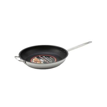 WINSSFP12NS - Winco - SSFP-12NS - 12 in Non-Stick Stainless Steel Fry Pan Product Image