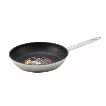 WINSSFP8NS - Winco - SSFP-8NS - 8 in Non-Stick Stainless Steel Fry Pan Product Image