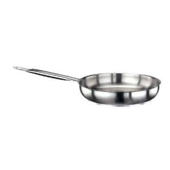 WOR1101428 - World Cuisine - 11014-28 - Series 1000 11 in Stainless Steel Fry Pan Product Image