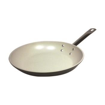 "WOR1161824 - World Cuisine - 11618-24 - Go Green 9 1/2"" Ceramic Coated Fry Pan Product Image"