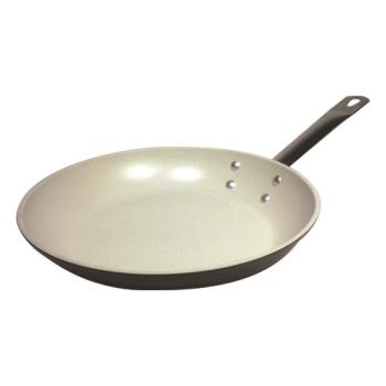 "WOR1161828 - World Cuisine - 11618-28 - Go Green 11"" Ceramic Coated Fry Pan Product Image"