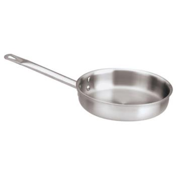 WOR1251426 - World Cuisine - 12514-26 - 10 1/4 in Stainless Steel Fry Pan Product Image