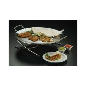 AMMGSST17 - American Metalcraft - GSST17 - 17 1/2 in Round Stainless Steel Griddle Product Image