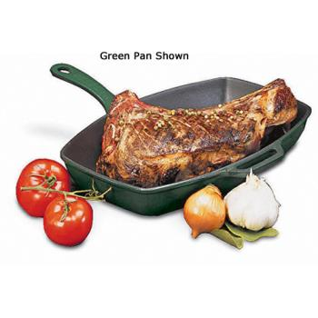 WORA1731032 - World Cuisine - A1731032 - Chasseur 12 1/2 in x 9 in Blue Grill Pan Product Image