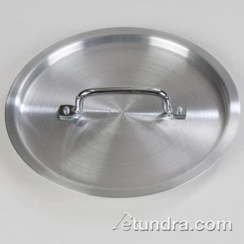 76463 - Carlisle - 61210C - 10 in Heavy Duty Aluminum Stock Pot Cover Product Image