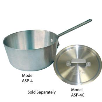 WINASP4C - Winco - ASP-4C - Winware 4 1/4 qt Sauce Pan Cover Product Image