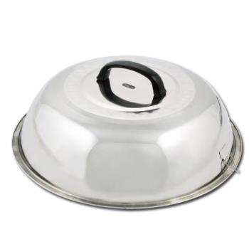 WINWKCS18 - Winco - WKCS-18 - 17 3/4 in Stainless Steel Wok Cover Product Image