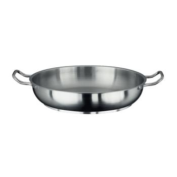 LIN3157 - Vollrath - 3157 - Centurion® 14 in Stainless Steel French Omelet Pan Product Image