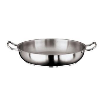 WOR1111545 - World Cuisine - 11115-45 - Grand Gourmet 17 3/4 in Stainless Steel Paella Pan Product Image
