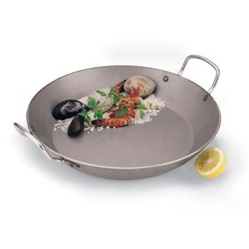 WORA4172345 - World Cuisine - A4172345 - 17 3/4 in Carbon Steel Paella Pan Product Image