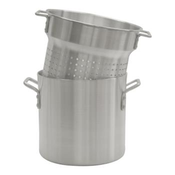 THGALSKPC120 - Thunder Group - ALSKPC120 - 20 qt Aluminum Pasta Cooker Product Image