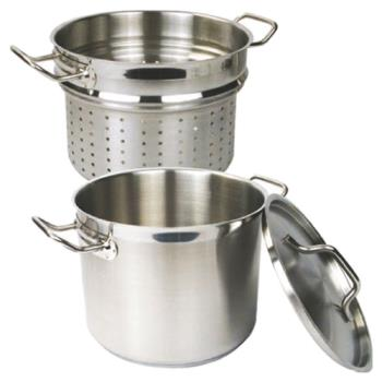 THGSLSPC012 - Thunder Group - SLSPC012 - 12 qt Stainless Steel Pasta Cooker Product Image
