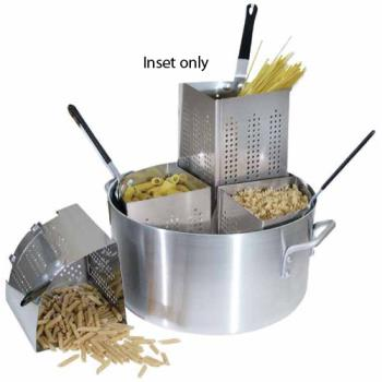 WINAPSINS - Winco - APS-INS - Precision Stainless Steel Pasta Cooker Inset Product Image