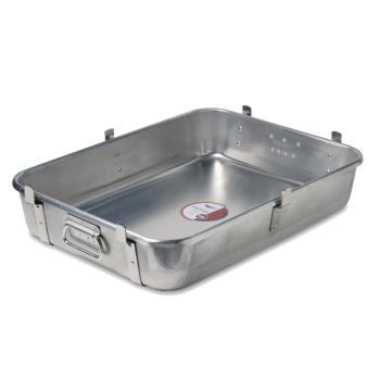 LIN448312 - Vollrath - 4483 1/2 - 18 in x 24 in Roasting Pan Bottom with Straps Product Image