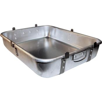 WINALRP1824L - Winco - ALRP-1824L - 18 in x 24 in Aluminum Roasting Pan with Lugs Product Image