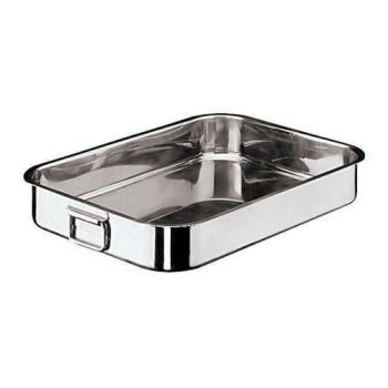 WOR1194440 - World Cuisine - 11944-40 - 10 1/4 in x 15 3/4 in Stainless Steel Roasting Pan Product Image