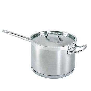 76317 - Update  - SSP-10 - 10 Qt Induction Ready Stainless Steel Sauce Pan Product Image