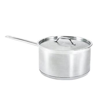 76318 - Update - SSP-4 - 4 1/2 qt Induction Ready Stainless Steel Sauce Pan Product Image