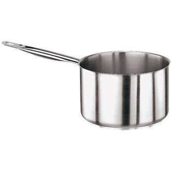 WOR1100620 - World Cuisine - 11006-20 - Series 1000 4 qt Stainless Steel Sauce Pan Product Image