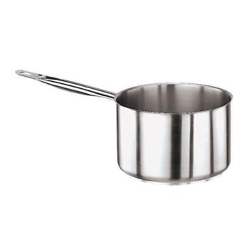 WOR1101124 - World Cuisine - 11011-24 - Series 1000 5 3/4 qt Stainless Steel Low Sauce Pan Product Image