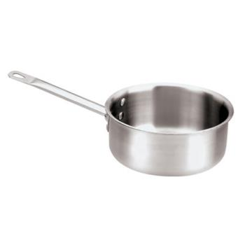 WOR1251124 - World Cuisine - 12511-24 - 5 qt Stainless Steel Sauce Pan Product Image
