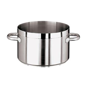WOR1110736 - World Cuisine - 11107-36 - Grand Gourmet 23 1/4 qt Stainless Steel Sauce Pot Product Image