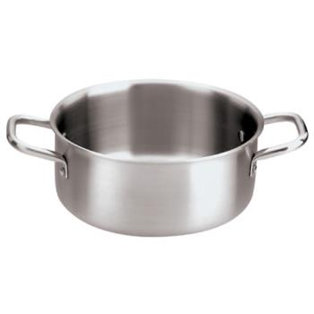 WOR1250928 - World Cuisine - 12509-28 - 7 qt Stainless Steel Sauce Pot Product Image