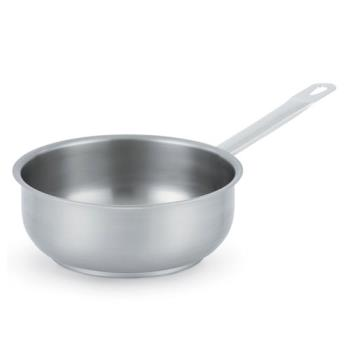 LIN3153 - Vollrath - 3153 - Centurion® 4 1/4 Qt Stainless Steel Curved Saute Pan Product Image