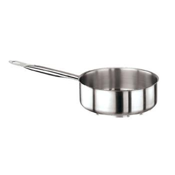 WOR1100824 - World Cuisine - 11008-24 - Series 1000 4 qt Stainless Steel Sauté Pan Product Image
