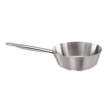 WOR1101224 - World Cuisine - 11012-24 - Series 1000 2 7/8 qt Stainless Steel Sauté Pan Product Image