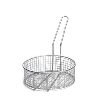 TAB988 - Tablecraft - 988 - 10 1/2 in x 3 1/2 in Cooking Steamer Basket Product Image