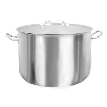 THGSLSPS032 - Thunder Group - SLSPS032 - 32 qt Stainless Steel Stock Pot  Product Image