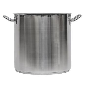 LIN3509 - Vollrath - 3509 - Optio™ 38 Qt Stainless Steel Stock Pot With Cover Product Image