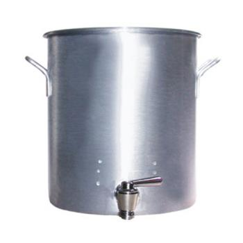 LIN4260B - Vollrath - 68691 - Classic Select® 100 qt Aluminum Stock Pot with Faucet Product Image