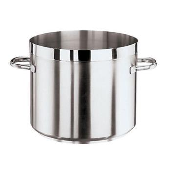 WOR1110532 - World Cuisine - 11105-32 - Grand Gourmet 23 1/4 qt Stainless Steel Low Stock Pot Product Image