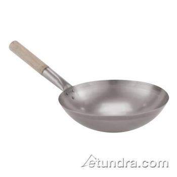 "WOR4960441 - World Cuisine - 49604-41 - 16"" Steel Chinese Wok Product Image"