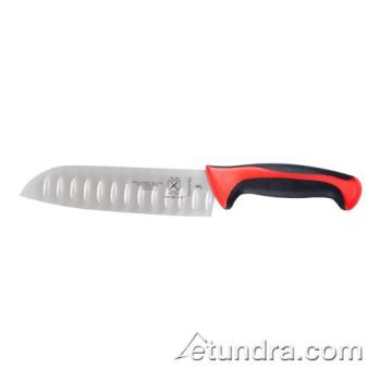 "59348 - Mercer - M22707RD - Millennia Primary4™ Red 7"" Santoku Knife Product Image"