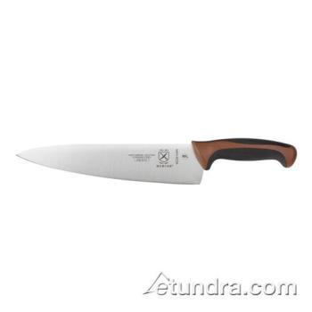 "MECM22610BR - Mercer Cutlery - M22610BR - Mellennia 10"" Brown Handle Chef Knife Product Image"