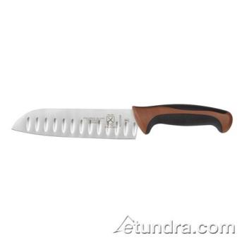 "MECM22707BR - Mercer Cutlery - M22707BR - Mellennia 7"" Brown Handle Santoku Knife Product Image"