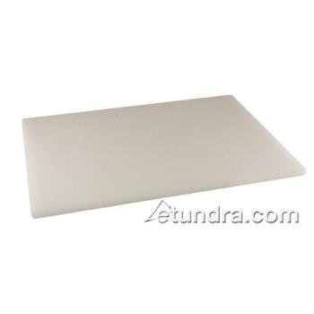 76250 - Crestware - PCB69 - 6 in x 9 in x 1/2 in White Cutting Board Product Image